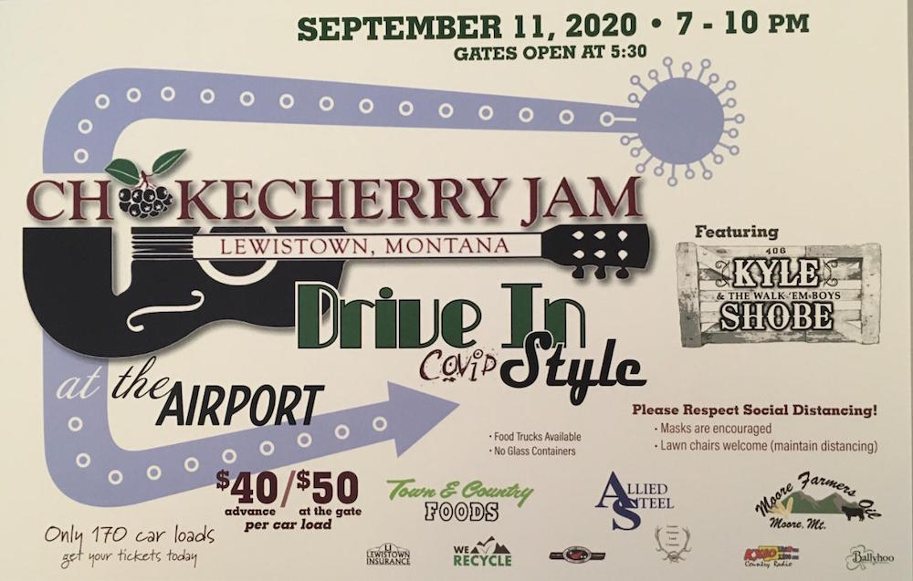 Chokecherry Jam 2020 poster